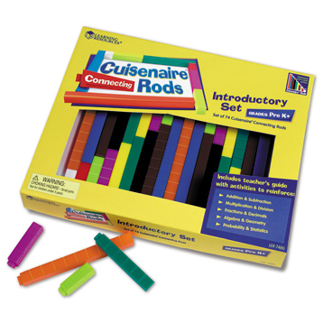 Connecting Cuisenaire Rods Introductory Set