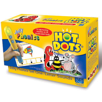 Hot Dots Jolly Phonics Practice Cards