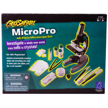 MicroPro 48-Piece Microscope Set