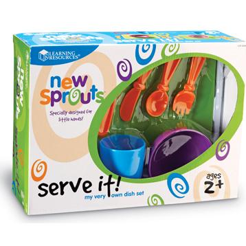 Serve it! My Very own Dish Set
