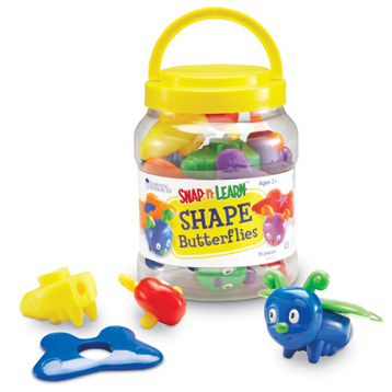 Snap n Learn Shape Butterflies