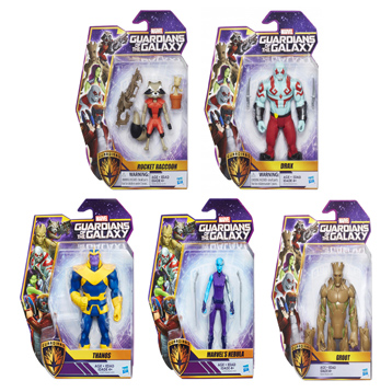 Guardians of The Galaxy 6-Inch Figures Assorted