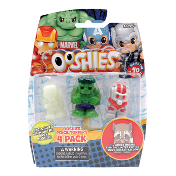Ooshies 4 Pack (Series 1)