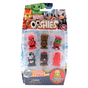 Ooshies 7 Pack (Series 1)