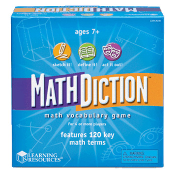 MathDiction Maths Vocabulary Game