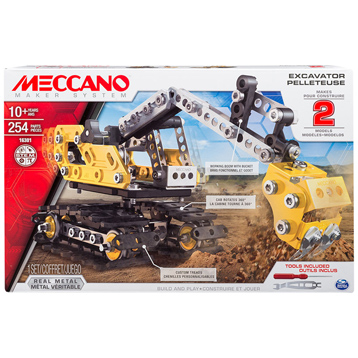 Excavator & Bulldozer 2-in-1 Model Set