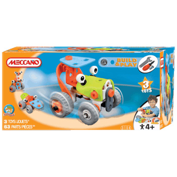 Build & Play Tractor