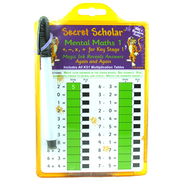 Secret Scholar Mental Maths 1