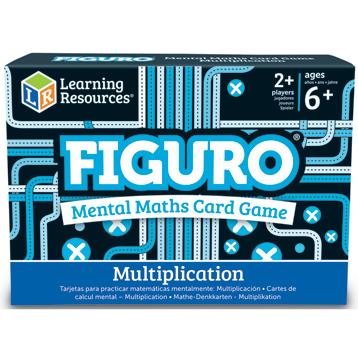 Figuro Mental Maths Match Multiplication Card Game