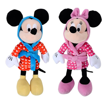 "Mickey & Minnie 12"" Plush"