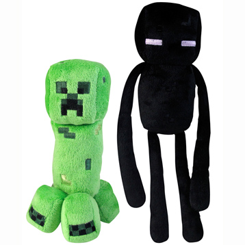 "Minecraft 7"" Soft Toy Hostile Mobs"