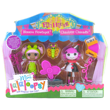 Mini Lalaloopsy Silly Funhouse 2 Pack