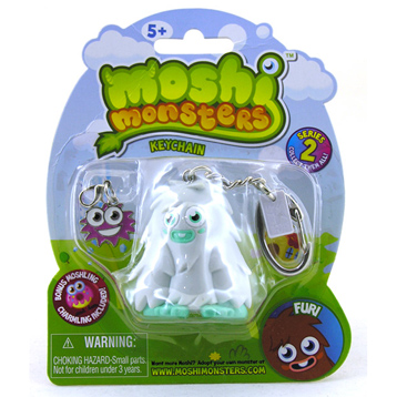 Moshi Monster Figure Keychain