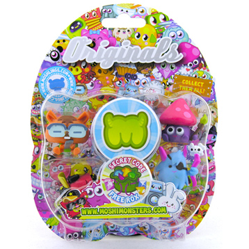 Moshi Monsters Collectables