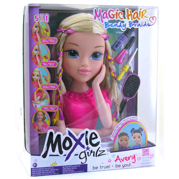 Moxie Girlz Bendy Braidz Torso