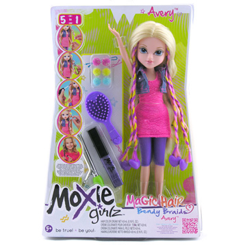 Magic Hair Bendy Braidz Doll