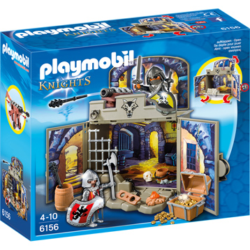 Playmobil Knights My Secret Knights' Treasure Room Play Box