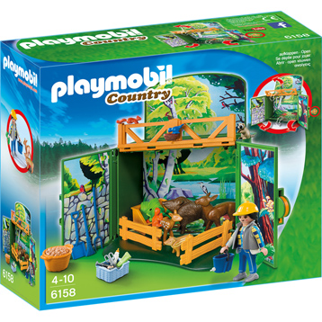 Playmobil Country My Secret Forest Animals Play Box
