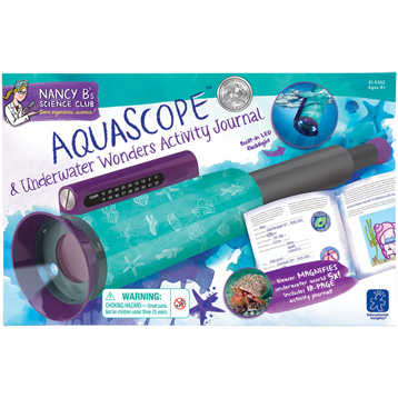 Nancy B's Science Club Aquascope & Underwater Wonders Activity Journal