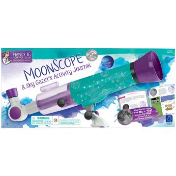 Nancy B's Science Club Moonscope & Sky Gazer's Activity Journal