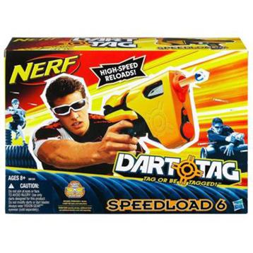 Nerf Dart Tag Speedload 6 Blaster