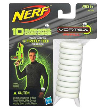 Nerf Vortex Glow in the Dark Ammo