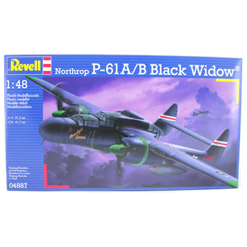 Northrop P-61A/B Black Widow (Scale 1:48)