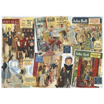 Nostalgic Britain Childhood Memories 1000 Piece