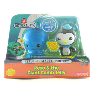 Peso & the Giant Comb Jelly Figure Pack