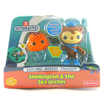 Shellington & the Sea Urchin Figure Pack