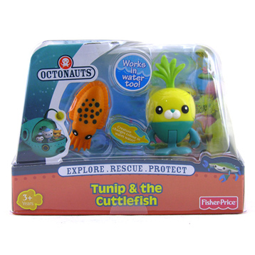 Tunip & the Cuttlefish Figure Pack