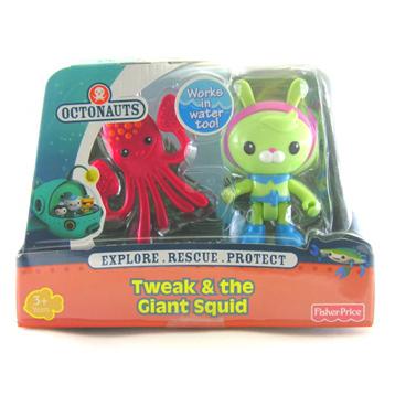 Tweak & the Giant Squid Figure Pack