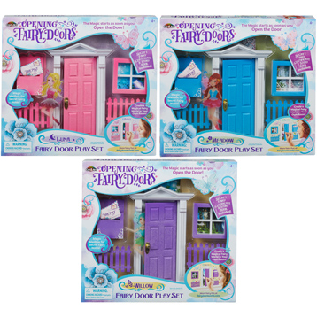 Opening Fairy Doors Playset