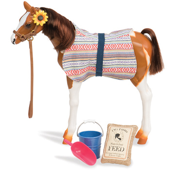 """12"""" Pinto Paso Foal & Accessories"""