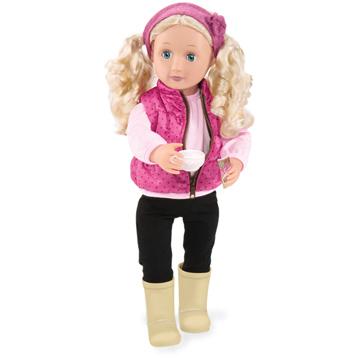 Audrey-Ann 46cm Doll with Book