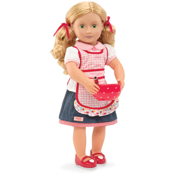 Jenny 46cm Doll with Book