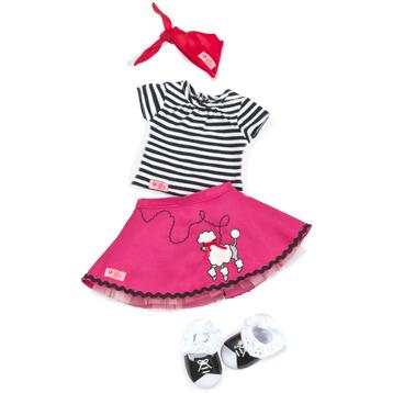 Retro Bop Til You Drop Doll's Outfit