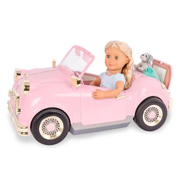 """Retro Car for 18"""" Doll"""