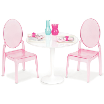 Table For Two Doll Playset