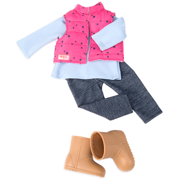 Trekking Star Doll's Outfit
