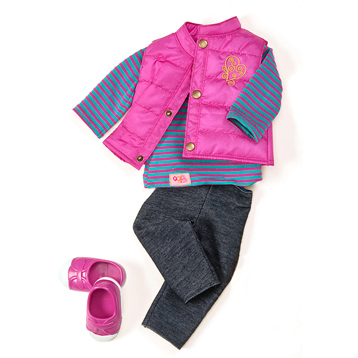 Vest Friends Forever Outfit