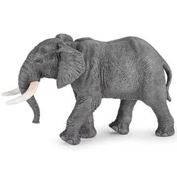 Wild Animal Kingdom African Elephant Figure