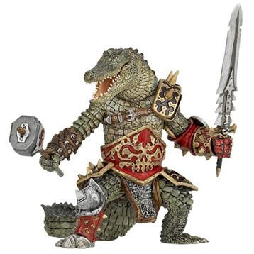 Fantasy World Crocodile Mutant Figure