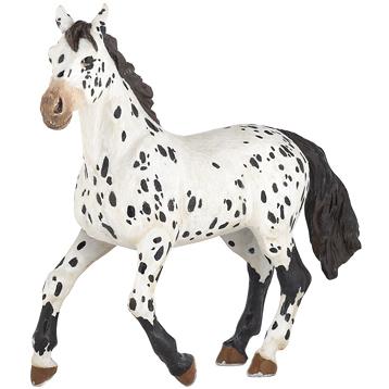 Horses Black Appaloosa Horse Figure