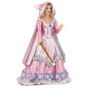 Pink Enchantress with Wand