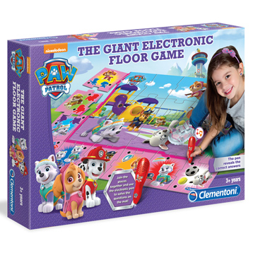 Paw Patrol Giant Electronics Floor Games for Girls