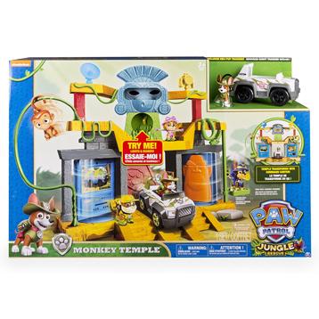 Monkey Temple Playset