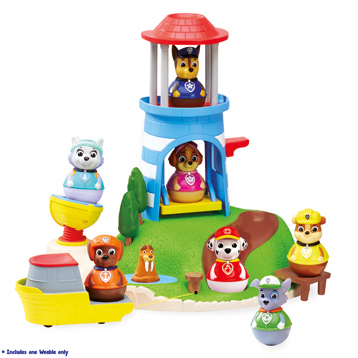 Weebles Pull & Play Seal Island Playset
