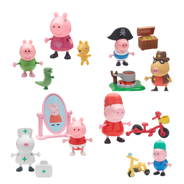 Peppa & Friends Figure Packs