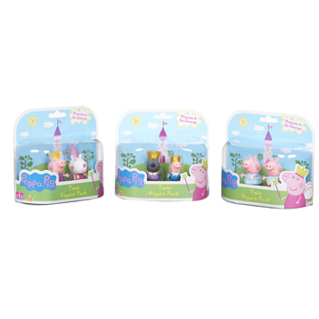 Peppa Pig Once Upon A Time Twin Figure Pack